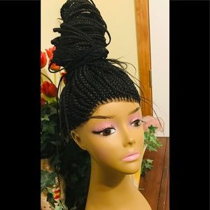 Other - Hand Braided. 360 Lace wig